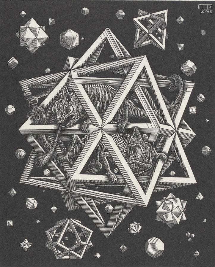 Mostra Escher a Palazzo Blu
