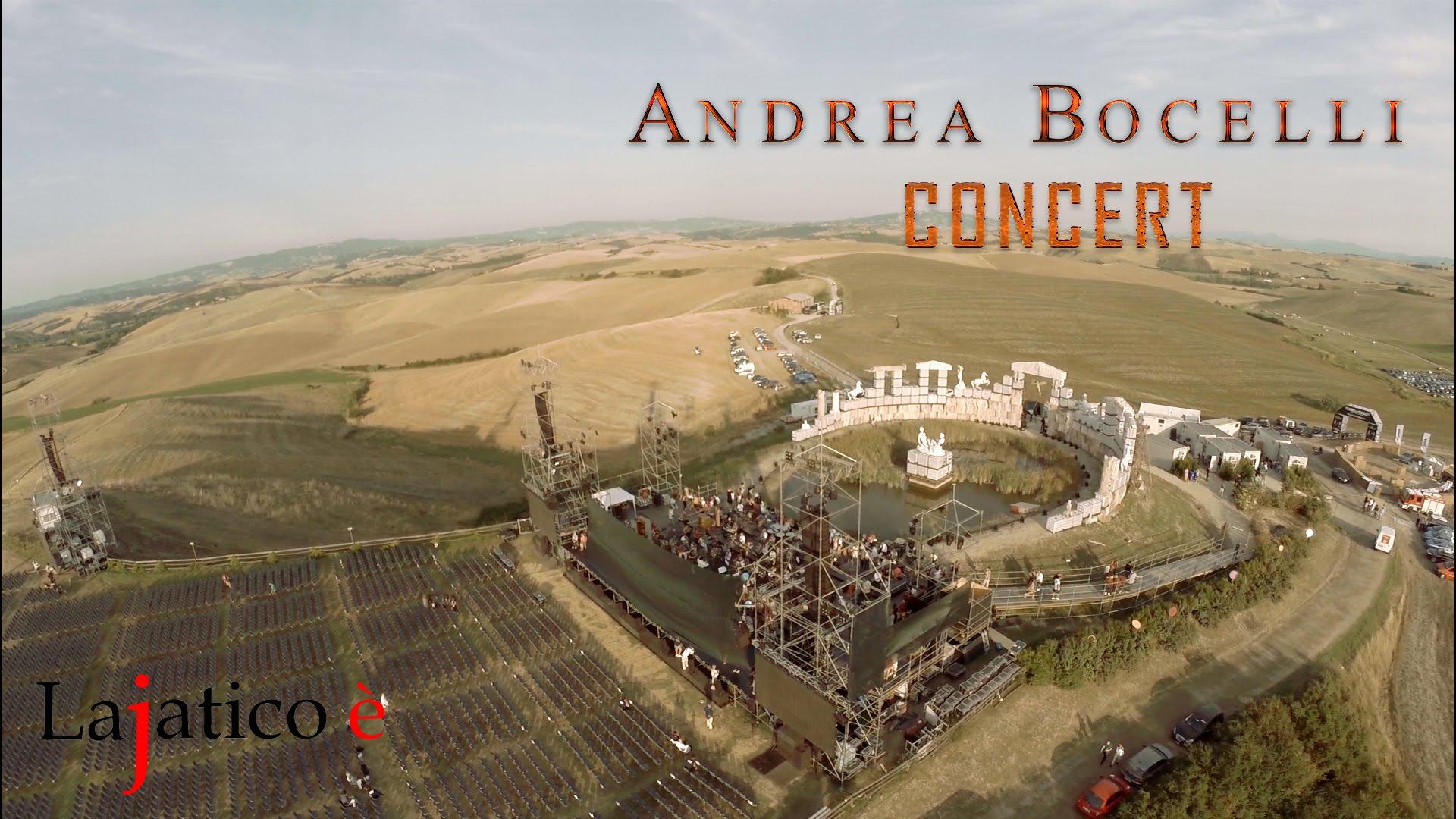 Andrea Bocelli - Teatro del Silenzio - Lajatico - 2018